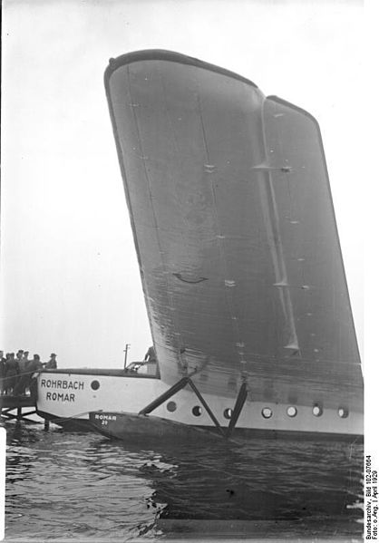 Rohrbach Ro-X Romar Atlantic Flying Boat 1929