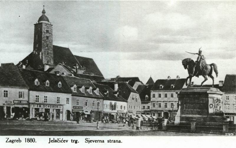 Zagreb Trg1880