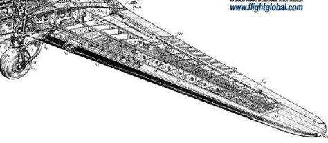 Detachable wing of DC-3